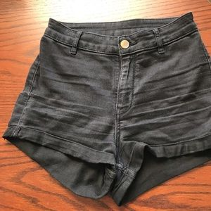 Divided Black Jeans Shorts Size 4